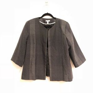 Eileen Fisher L Blazer open front